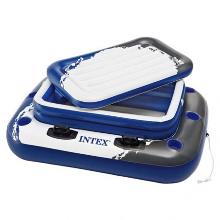 Intex Nevera Hinchable Flotante 122 x 97 cm