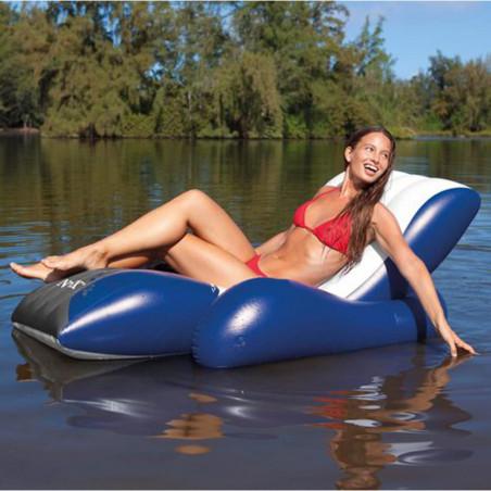 Intex Sillón Acuático Hinchable Agua River Run 180 x 135 cm