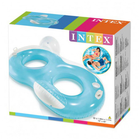 Intex Flotador hinchable doble