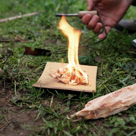 Base de Cuero para Fuego - Pedro Hidalgo