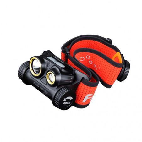 Fenix HM65R-T Recargable Magnesio Trail Running - Linterna frontal