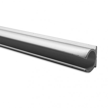Guía de aluminio anodizado ø 7 mm para bordón de toldilla o avance caravana - por metros