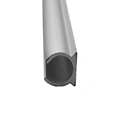 Guía de aluminio anodizado para bordón de toldilla o avance caravana - por metros