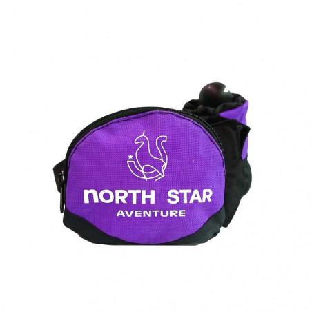 Riñonera North Star ADVENTURE - morado
