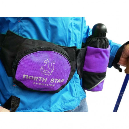 Riñonera North Star ADVENTURE - morado