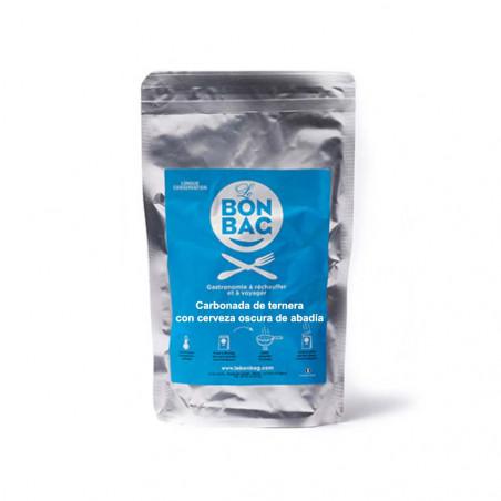 Le Bon Bag - Carbonada de Ternera con Cerveza de Abadía - Comida Esterilizada 250 g