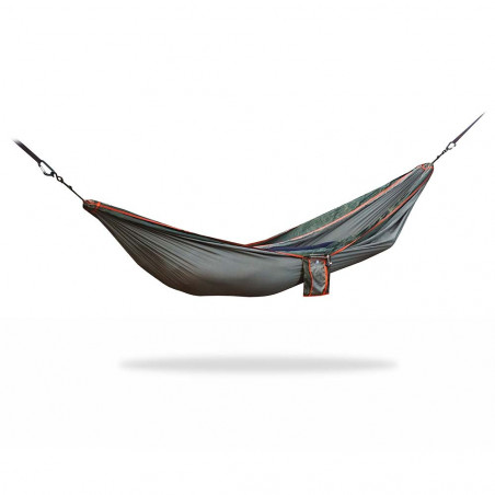 Home on Earth Parachute Hammock army - Hamaca doble ultraligera