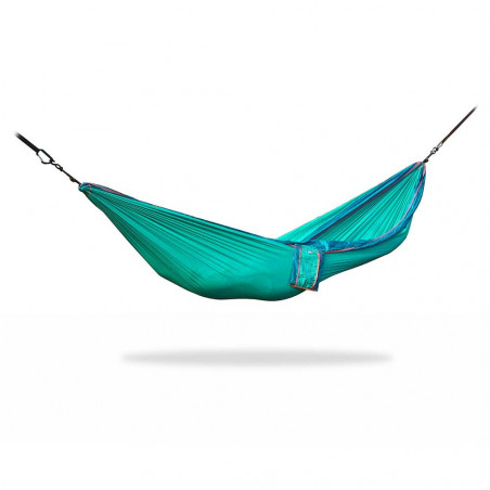 Home on Earth Parachute Hammock esmerald - Hamaca doble ultraligera