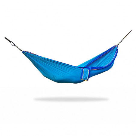 Home on Earth Parachute Hammock sky blue - Hamaca doble ultraligera
