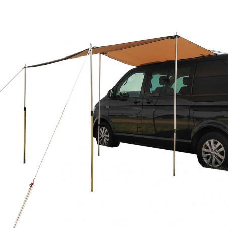 Outhaus Toldo Halex 20 200 × 250 beige - Toldo para furgoneta camper