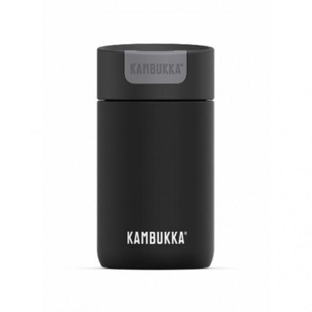 Kambukka Olympus 300 ml Jet Black – Botella termo té y café