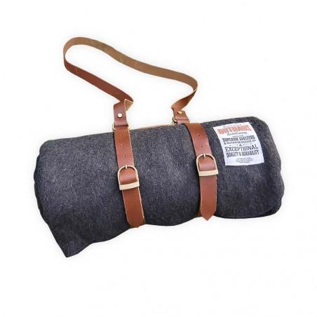 Outhaus Merino Wool Blanket Charcoal - Manta bushcraft lana merino