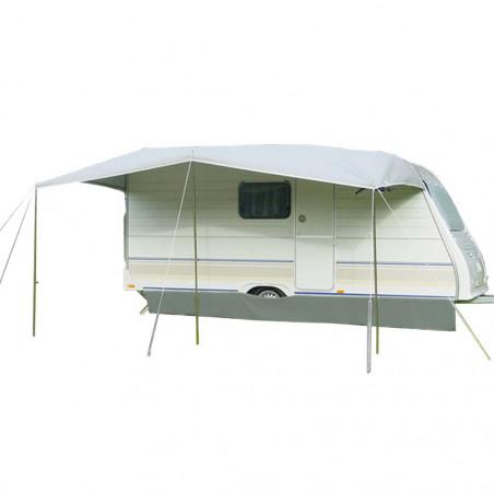 Avancé caravana pvc Tendistan ALMEDA con tapas - fondo 270 cm