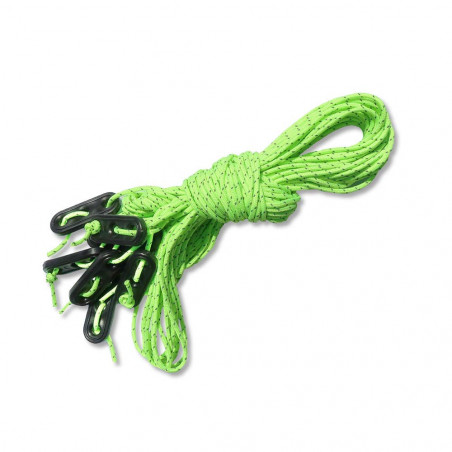 DD Hammocks Superlight Guy Rope - Vientos neón (8 x 2 m)