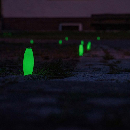 Ropescout Glow Ground Marker - Pack 6 piquetas fluorescentes