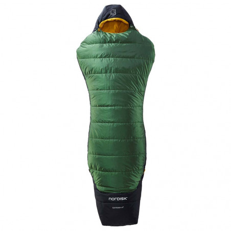 Nordisk Gormsson +4º Curve M  verde - Saco de dormir