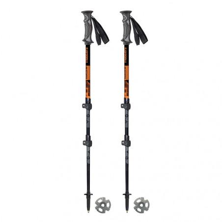 Masters RANGER LTD naranja - Bastones de trekking telescópicos