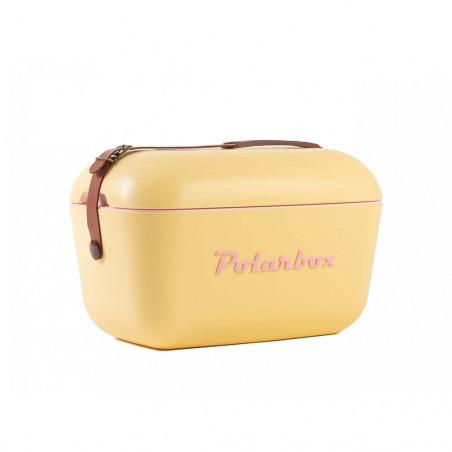Polarbox Classic 12L amarillo – Nevera portátil retro vintage