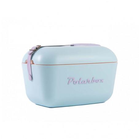 Polarbox Pop 12L celeste – Nevera portátil retro vintage