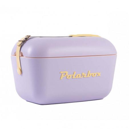 Polarbox Pop 20L malva – Nevera portátil retro vintage