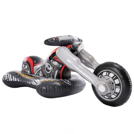 Intex Colchoneta hinchable Ride-on Moto Custom 180 x 94 cm