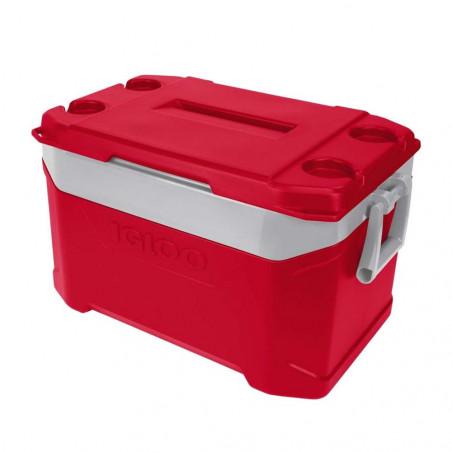 Igloo Coolers LATITUDE 50 roja - Nevera rígida portátil