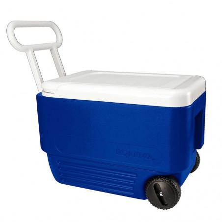 Igloo Coolers WHEELIE COOL 38 azul - Nevera rígida con ruedas