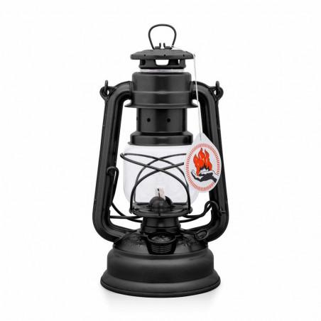 Feuerhand 276 negro mate - Lámpara de Parafina vintage