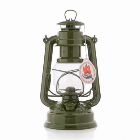 Feuerhand Baby Special 276 verde oliva - Lámpara de Petróleo vintage