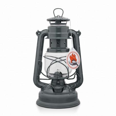 Feuerhand Baby Special 276 gris antracita - Lámpara de Petróleo vintage