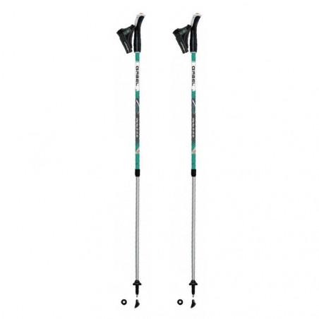 Gabel VARIO S-9.6 Teal - Bastones telescópicos de nordic walking
