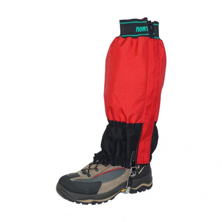 Par de polainas de montaña CORDURA™ - roja y negra