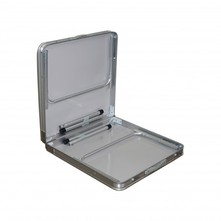 Mesa plegable HOSA 120 x 60 cm. aluminio