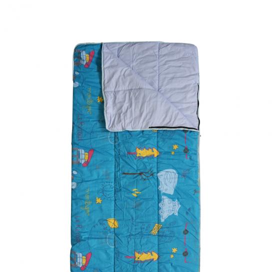 Saco de Dormir Infantil Deuter Starlight Pro Color Verde y Azul Marino 160-190 x 68 x 45 cm