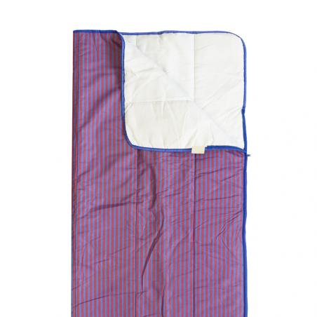 Saco de dormir Hosa JUNIOR RAYAS rojo y azul - para niños