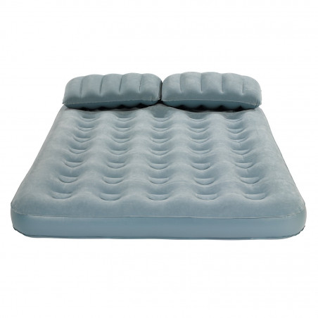 Colchón hinchable doble Campingaz SMART QUICKBED con almohada - Gris