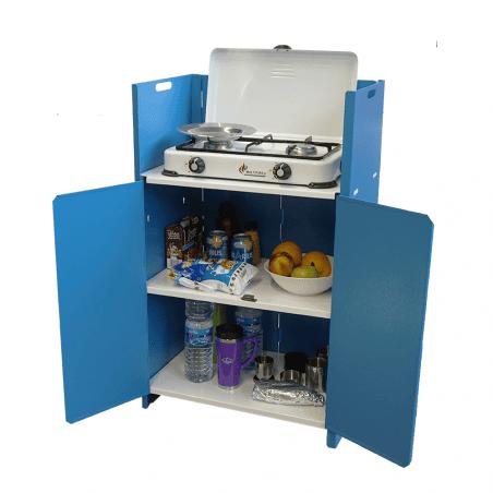 Mueble cocina Locust DESPENSA METÁLICO - azul