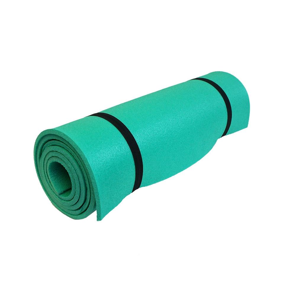 Esterilla aislante de espuma BASE CAMP - verde