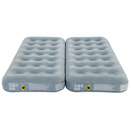 Colchón hinchable Campingaz SMART QUICKBED™ CONVERTIBLE individual / doble - Gris