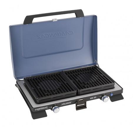 Hornillo cocina de gas Campingaz SERIE 400 PORTATIL GRILL XCELERATE