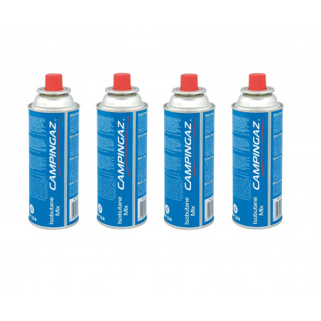Pack 4 cartuchos de gas Campingaz CP250 perforables