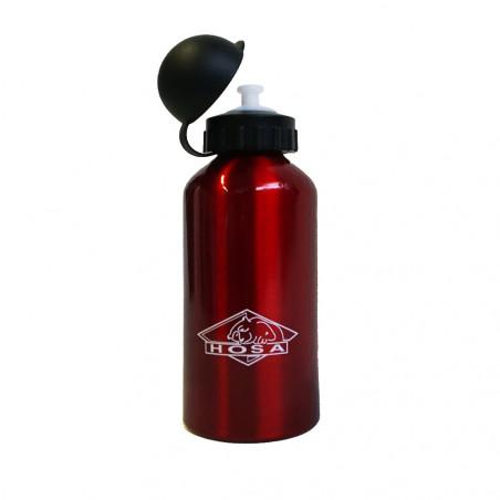 Botella cantimplora HOSA ALUMINIO 0,5L roja