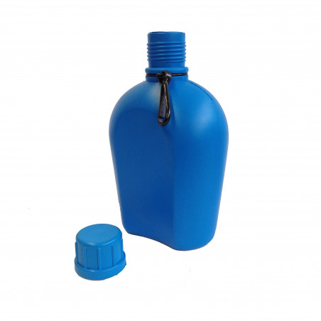 Rockwest Army Flask 1 Litro azul - Cantimplora