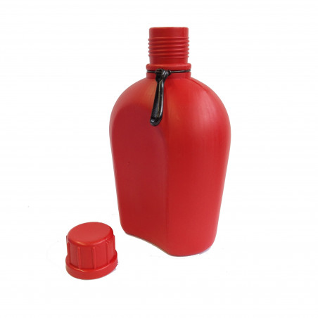 Rockwest Army Flask 1 Litro roja - Cantimplora