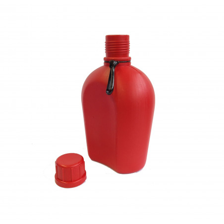 Hosa Army Flask 750 ml roja - Cantimplora
