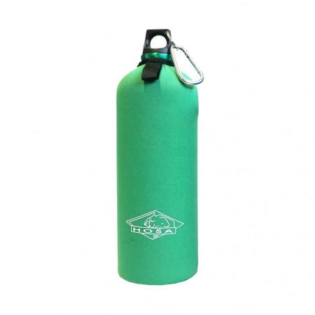 Botella cantimplora HOSA ALUMINIO 1 L CON FUNDA - verde