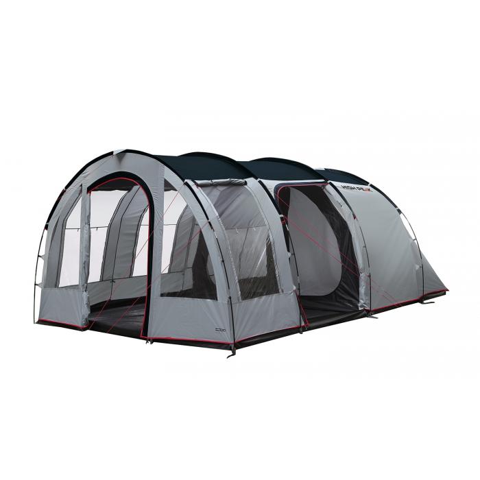 Tienda de campa a benito 5 high peak camping sport for Piscinas familiares desmontables