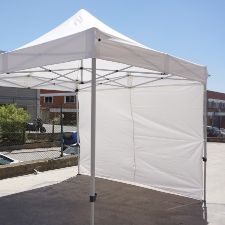 Pared lateral para CARPA 2X3 - blanca