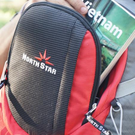 Mochila de trekking North Star FORREST 30 - roja