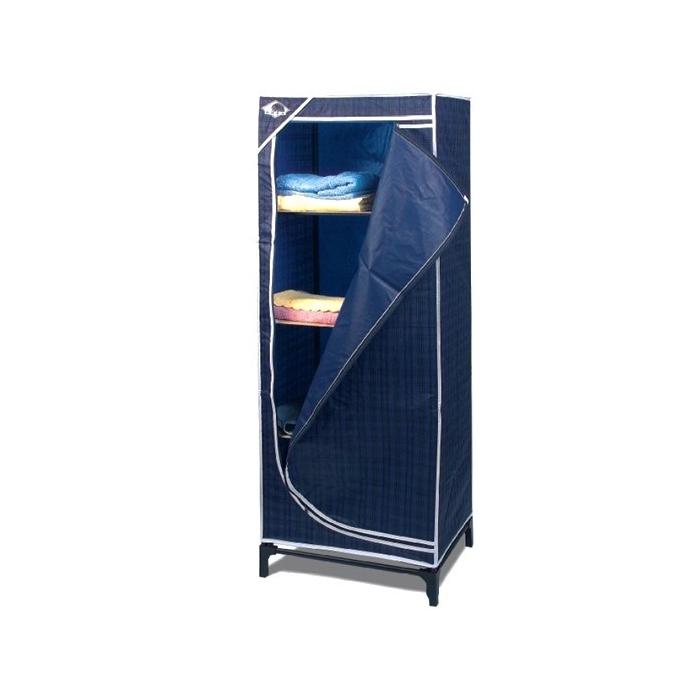 Armario plegable pvc c 4 estantes camping sport for Armario plegable camping